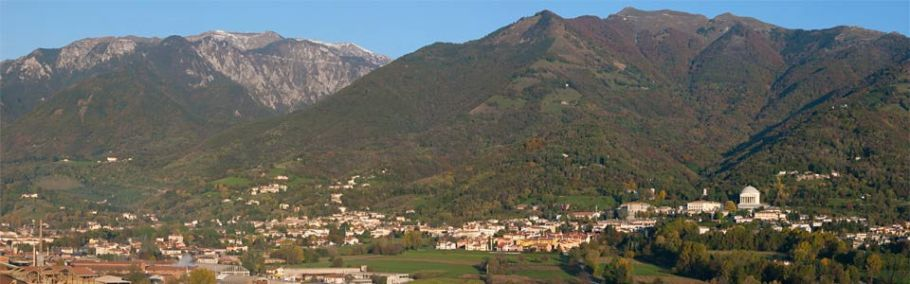 Panoramica di Possagno
